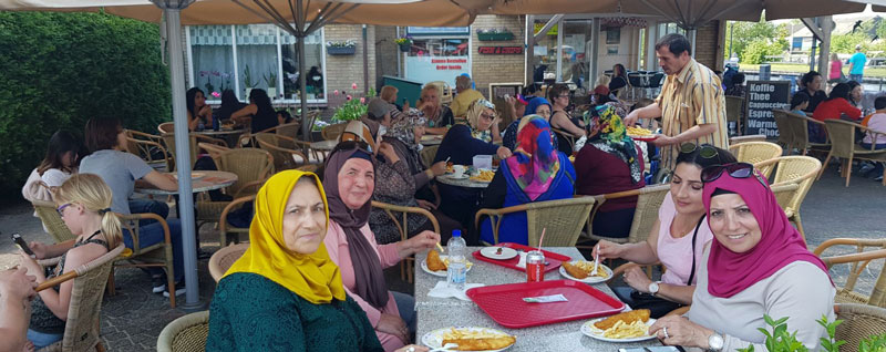Activiteiten bij multiculturele dagbesteding Stichting Zorgtrecht Utrecht