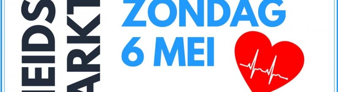 Zondag 6 mei Gezondheidsmarkt Zuilen bij Zorgtrecht