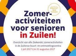 ZomerZUILEN activiteiten voor senioren in Zuilen!