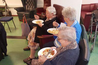 Samen eten bij Stichting Zorgtrecht Utrecht